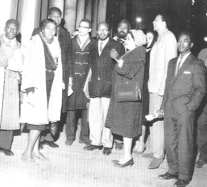 Claudia Jones and others including Jan Carew (date unknown)