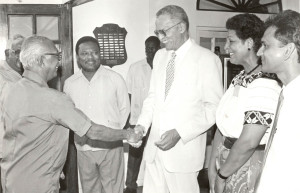 Jan Carew's last meeting with Cheddi Jagan