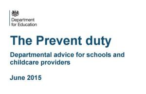 Prevent duty DfE