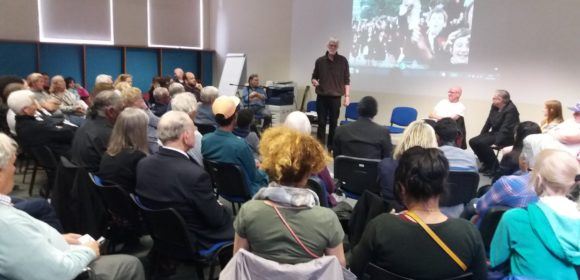 Launch of 'Issac and I' (Credit: Tower Hamlets Local History Library & Archives)