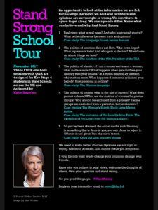 standstrongschooltour