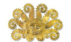 Headdress from La Mina