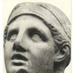 Forged Skopas head from the Getty Museum