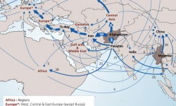 Flow of Opiates to Europe (From the Afghan Opiate Monitoring Programme)