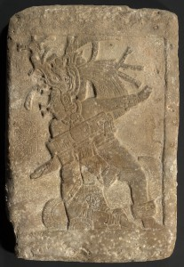 "Ballplayer relief panel. Guatemalan Lowlands. La Carona (Site ""Q""). Maya, AD 550–950. Limestone. Jay I. Kislak Collection, Rare Book and Special Collections Division, Library of Congress (011.00.00)"