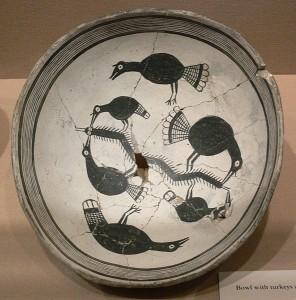Mimbres Bowl, Dallas Museum of Art, Object number 1990.99.FA Public Domain.