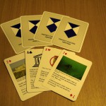 Selection of the playing cards