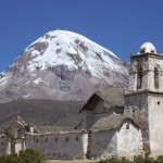 Nevado_Sajama_e_Iglesia_-_Oruro_-_Bolivia