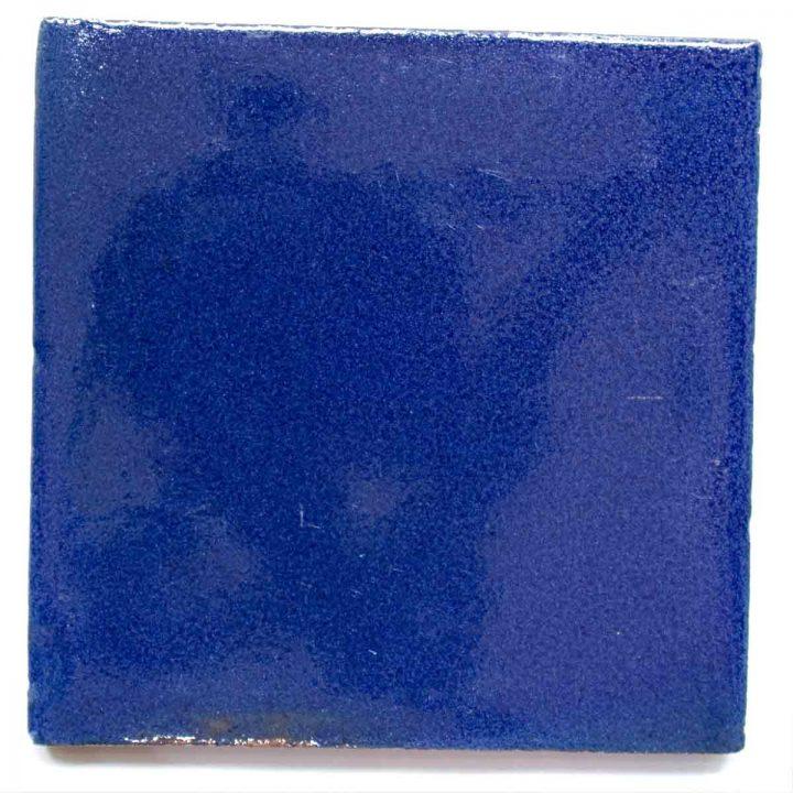 cobalt blue hand made wall tiles