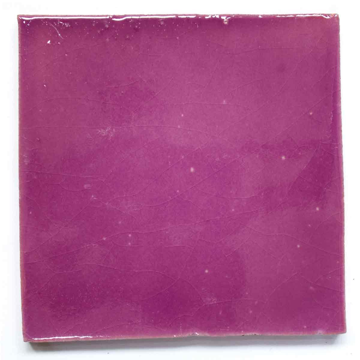 lilac hand made tiles