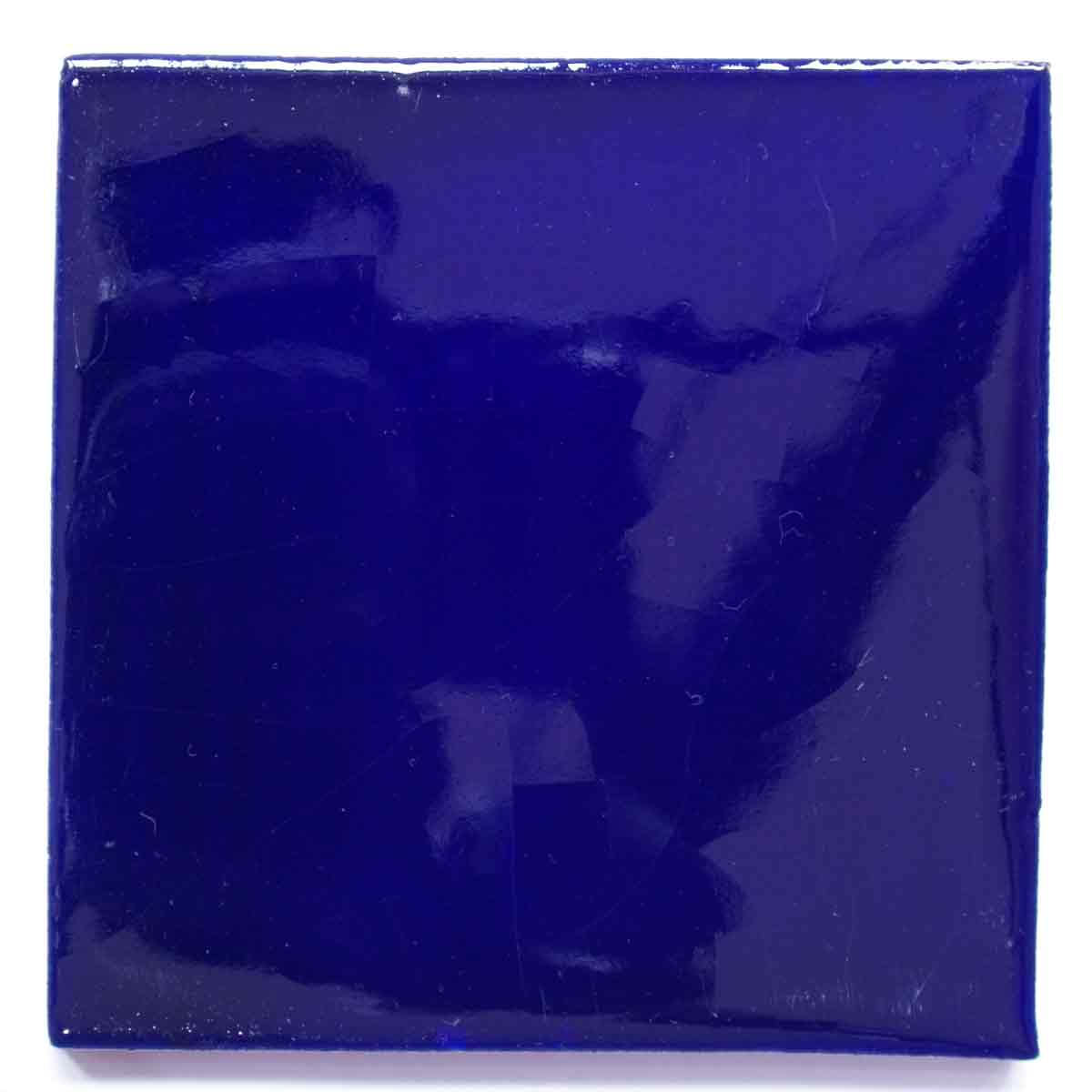 special blue hand made tiles.