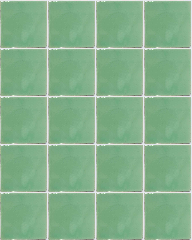 claro green hand made wall tiles