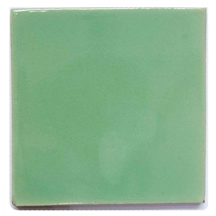 Clare green hand made tiles