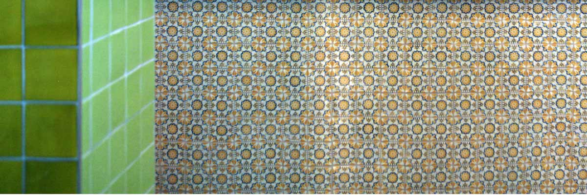chilangos camden patterned and coloured hand made tiles
