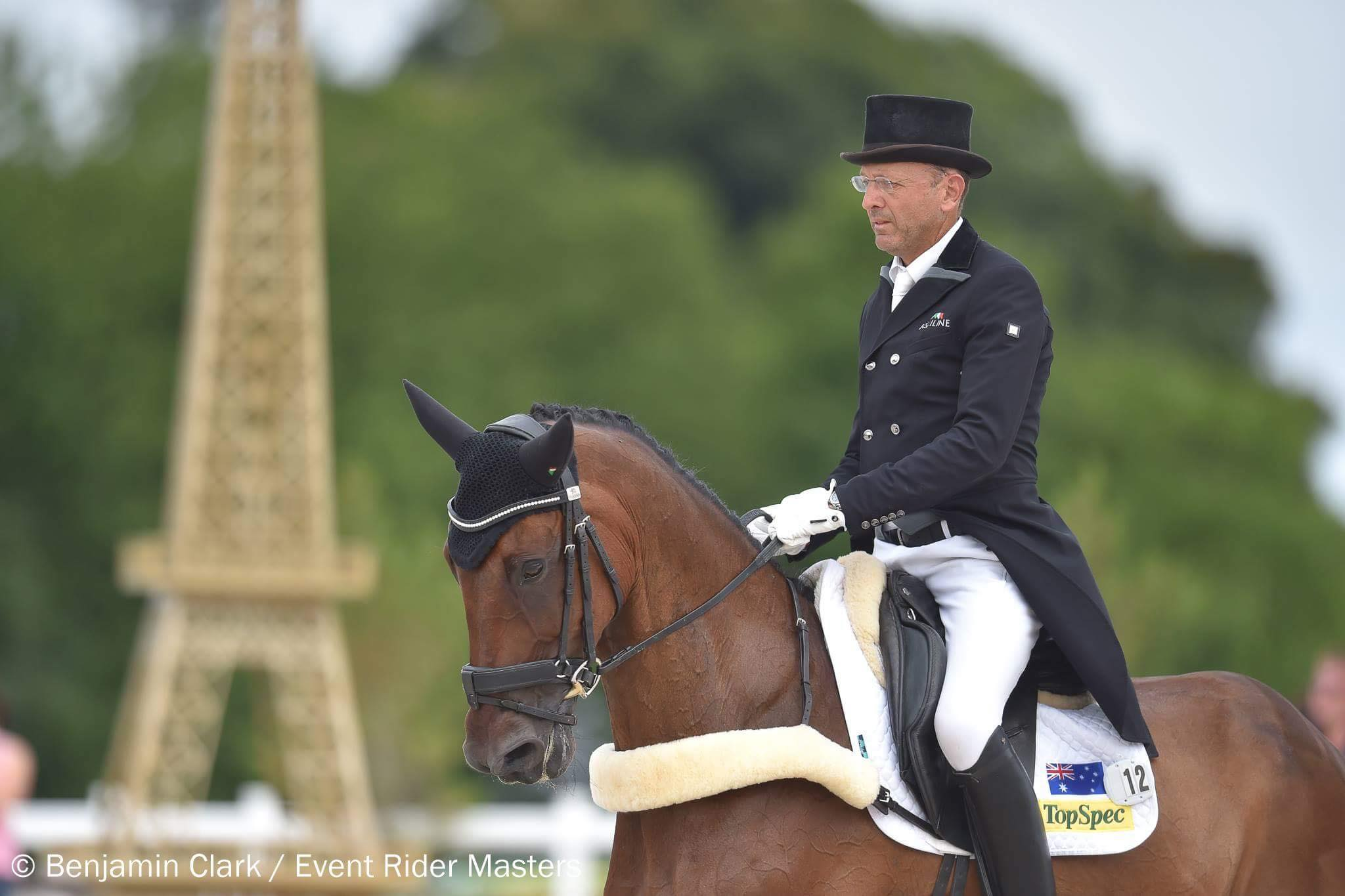 Post image for Bill Levett, Olympic Rider visits the Group