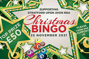 RDA Stratford Christmas Bingo Fundraising Event