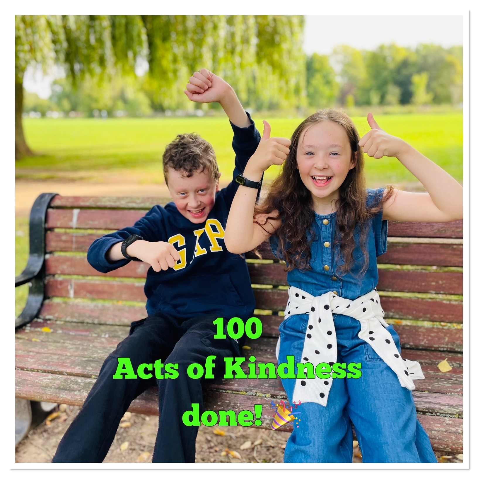 Thumbnail image for 100 Acts of kindness completed!!