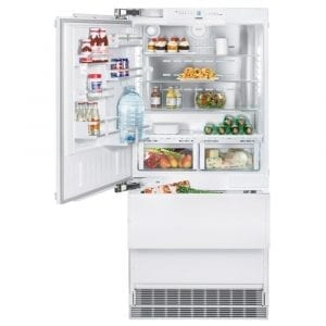 Liebherr ECBN6156L 91cm Integrated Biofresh Fridge Freezer Left Hinged