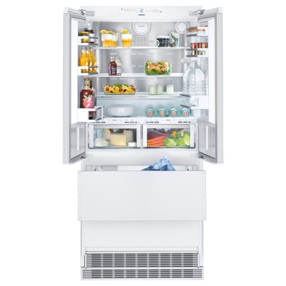 Liebherr Ecbn6256 91cm Integrated Biofresh Four Door Fridge Freezer