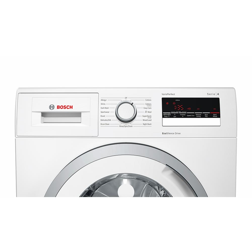 bosch wan28201gb 8kg serie 4 washing machine 1400rpm white appliance city. Black Bedroom Furniture Sets. Home Design Ideas