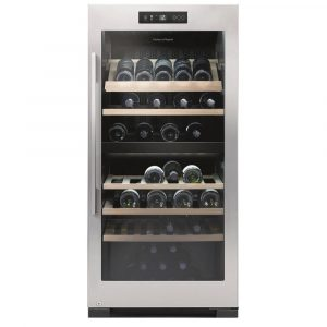 Fisher Paykel RF206RDWX1 60cm Freestanding Dual Zone Wine Cooler - STAINLESS STEEL