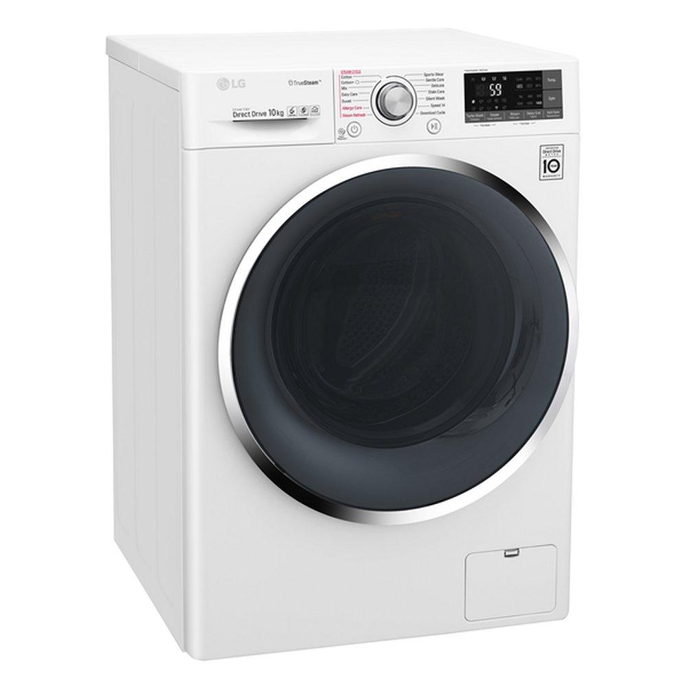 lg f4j8js2w 10kg direct drive truesteam washing machine 1400rpm white appliance city. Black Bedroom Furniture Sets. Home Design Ideas