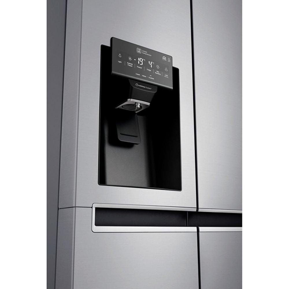 lg gsl761pzxv american fridge freezer non plumbed ice water appliance city. Black Bedroom Furniture Sets. Home Design Ideas