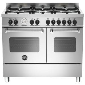Bertazzoni MAS100-6-MFE-D-XE 100cm Master Dual Fuel Range Cooker – STAINLESS STEEL