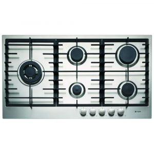 Caple C873G 89cm 5 Burner Gas Hob – STAINLESS STEEL