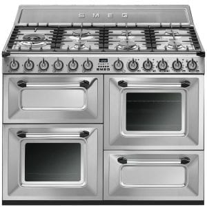 Smeg TR4110X 110cm Victoria Dual Fuel Range Cooker – STAINLESS STEEL