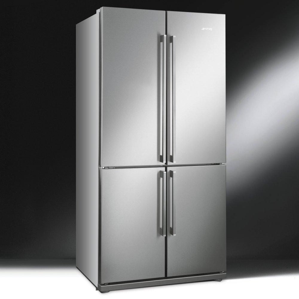 Smeg Fq60xp American Style Four Door Fridge Freezer