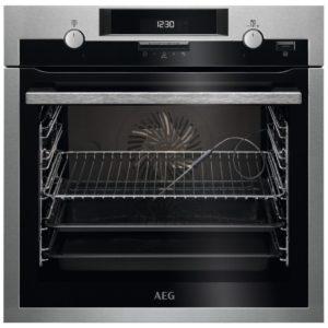 AEG BCS552020M Built In Single Multifunction Oven – STAINLESS STEEL