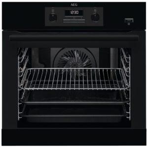 AEG BEB351010B Built In SteamBake Single Multifunction Oven – BLACK