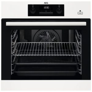AEG BEB351010W Built In SteamBake Single Multifunction Oven – WHITE