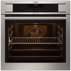 AEG BP730410KM Built In Maxiklasse Pyrolytic Single Oven - STAINLESS STEEL
