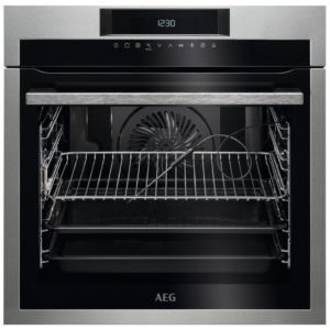 AEG BPE642020M Built In Pyrolytic Multifunction Single Oven – STAINLESS STEEL