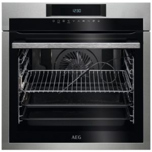AEG BPE742320M Built In Pyrolytic Multifunction Oven - STAINLESS STEEL