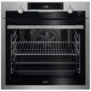 AEG BPS551220M Built In Pyrolytic SteamBake Multifunction Oven - STAINLESS STEEL
