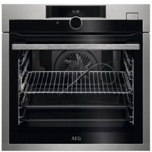 AEG BSE874320M Built In Pyrolytic SteamCrisp Multifunction Oven - STAINLESS STEEL