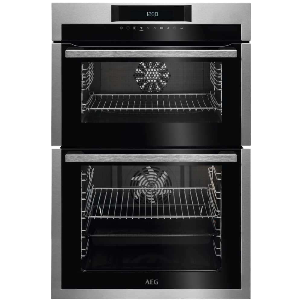 Aeg Dce731110m Built In Multifunction Double Oven