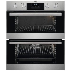 AEG DUB331110M Built Under Double Oven – STAINLESS STEEL