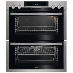 AEG DUE431110M Built Under Double Oven – STAINLESS STEEL