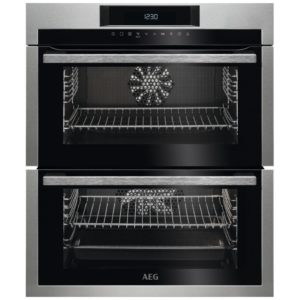 AEG DUE731110M Built Under Double Oven – STAINLESS STEEL