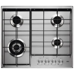 Hotpoint FTGHG641DHBK 60cm Direct Flame Gas On Glass Hob – BLACK