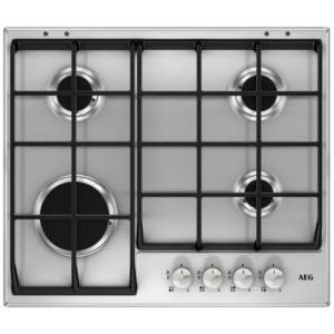 Neff T26CR48S0 60cm 4 Burner Gas On Glass Hob – BLACK