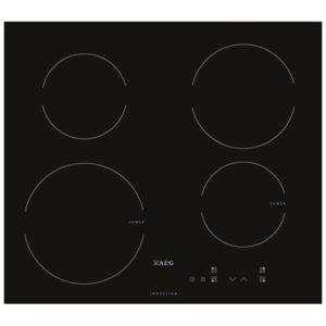AEG HK604200IB 60cm 4 Zone Induction Hob 13 Amp - BLACK