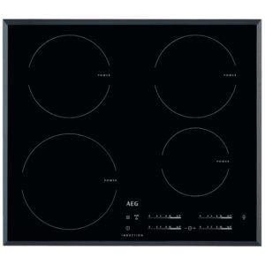 AEG HK6542H0FB 59cm 4 Zone Bevelled Induction Hob - BLACK