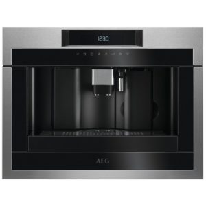 AEG KKE884500M 45cm Fully Automatic Built In Coffee Machine - STAINLESS STEEL