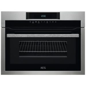 AEG KME761000M 60cm Built In Combi Microwave For Tall Housing - STAINLESS STEEL
