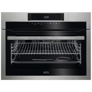 AEG KPE742220M Built In Compact Pyrolytic Multifunction Oven – STAINLESS STEEL
